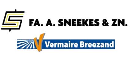 Familiebedrijven Fa. A. Sneekes & Zn. en Vermaire Breezand gaan samenwerken