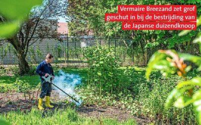 Vermaire op voorkant Noordhollands Dagblad