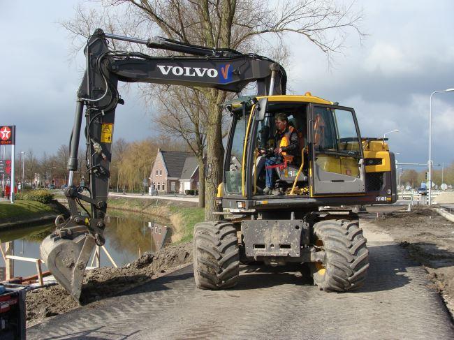 Mobiele kraan Volvo EW 140 D
