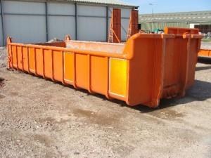 Vrachtwagen container